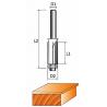 Фреза 1020-Z4 обгонная с нижним подшипником (4 лезвия)