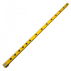 Мебельный кондуктор 25Д-5 длинный с шагом 25/50 мм, для присадки под конфирмат (евровинт) с диаметром отверстия 5 мм