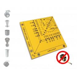 Мебельный шаблон для разметки мебельных опор РШМО