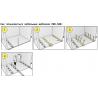 Мебельный шаблон ARVANT для разметки направляющих ящиков РШН-500 инструкция
