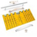 Мебельный шаблон для разметки ручек РШ-224Профи