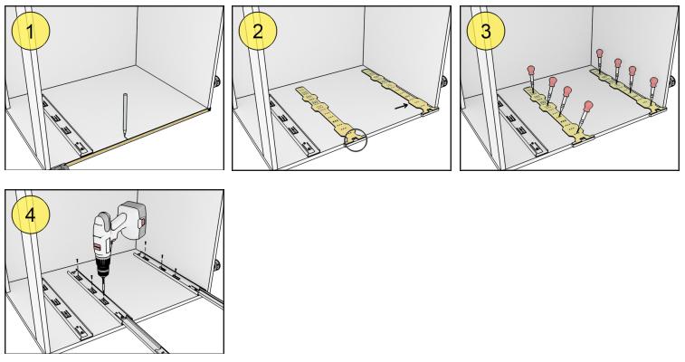 Мебельный шаблон ARVANT РШН-500 инструкция как использовать