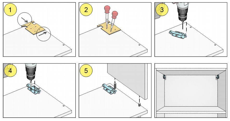 Мебельный шаблон ARVANT РШКН-50 инструкция как использовать
